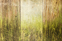 Viejo fondo de madera de los tablones del vintage Imagen de archivo