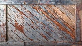Viejo fondo de madera del tablero Imagen de archivo