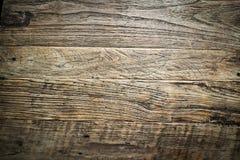 Viejo fondo de madera del vintage Imagen de archivo