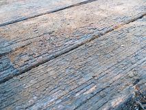 Viejo fondo de madera diagonal Fotografía de archivo