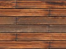 Viejo fondo de madera inconsútil del tablón Imagen de archivo libre de regalías