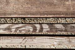 Viejo fondo de madera Fondo de madera de la textura de la pared del tablón de Brown Foto de archivo