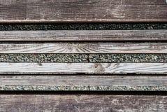 Viejo fondo de madera Fondo de madera de la textura de la pared del tablón de Brown Imagenes de archivo