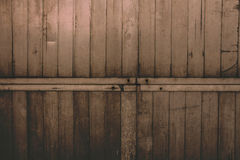 Viejo fondo de madera oscuro Foto de archivo