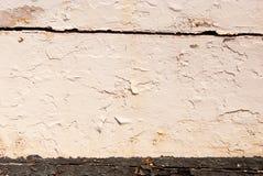 Viejo fondo de madera pintado Imagenes de archivo