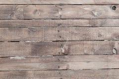 Viejo fondo de madera resistido de la pared del tablón Textura detallada imágenes de archivo libres de regalías