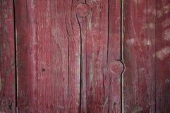 Viejo fondo de madera rojo imagen de archivo libre de regalías