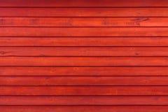 Viejo fondo de madera rojo resistido rústico del tablón imagenes de archivo