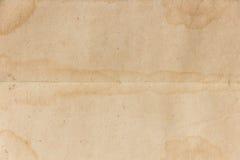 Viejo fondo de papel Fotografía de archivo
