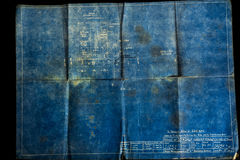 Viejo fondo de papel Foto de archivo
