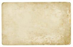 Viejo fondo de papel aislado Fotografía de archivo libre de regalías