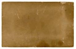 Viejo fondo de papel aislado Foto de archivo