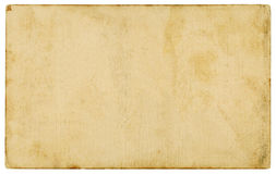 Viejo fondo de papel aislado Imágenes de archivo libres de regalías