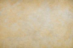 Viejo fondo de papel amarillo Imágenes de archivo libres de regalías