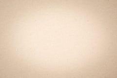 Viejo fondo de papel beige de la textura Imágenes de archivo libres de regalías