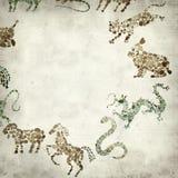 Viejo fondo de papel Textured Fotos de archivo libres de regalías