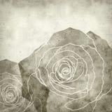 Viejo fondo de papel Textured Fotografía de archivo libre de regalías