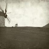 Viejo fondo de papel Textured Foto de archivo libre de regalías