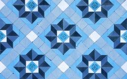 Viejo fondo del azulejo Fotografía de archivo
