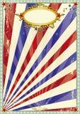 Viejo fondo del circo de Grunge Imagen de archivo libre de regalías