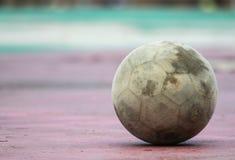 Viejo fondo del fútbol Fotografía de archivo