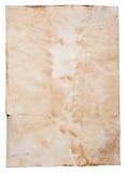 Viejo fondo del papel marrón Imagen de archivo libre de regalías