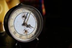 Viejo fondo del reloj Imagen de archivo