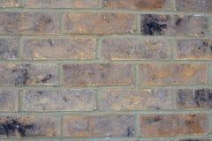 Viejo fondo marrón beige descolorado de la textura de la pared de ladrillo fotografía de archivo libre de regalías