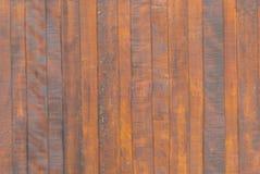 Viejo fondo marrón de madera del vintage Foto de archivo libre de regalías