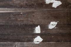 Viejo fondo material de madera pintado de la textura para el papel pintado viejo del vintage Fotos de archivo libres de regalías