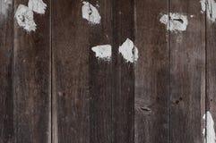Viejo fondo material de madera pintado de la textura para el papel pintado viejo del vintage Fotografía de archivo