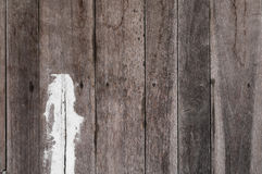 Viejo fondo material de madera pintado de la textura para el papel pintado viejo del vintage Foto de archivo libre de regalías