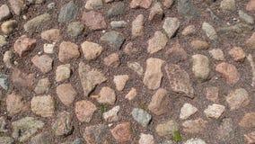 Viejo fondo o textura de la piedra del mosaico imagenes de archivo