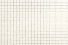 Viejo fondo o textura de papel comprobado Fotografía de archivo libre de regalías