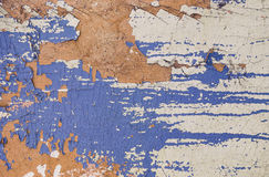 Viejo fondo pintado azul Imagen de archivo