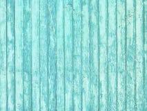Viejo fondo rústico azul claro pintado de madera, peladura de la pintura Fotos de archivo