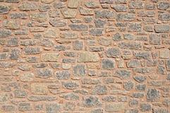 Viejo fondo rojo de la textura de la pared de ladrillo Fotografía de archivo libre de regalías