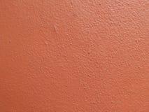 Viejo fondo rojo de la textura del cemento de la pared Fotografía de archivo libre de regalías