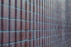 Viejo fondo rojo de la textura de la pared de ladrillo foto de archivo libre de regalías