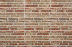 Viejo fondo rojo de la textura de la pared de ladrillo fotos de archivo