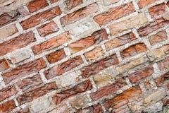 Viejo fondo sucio de la pared de ladrillo Imagen de archivo libre de regalías