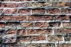 Viejo fondo sucio de la pared de ladrillo Foto de archivo libre de regalías