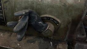 Viejo gloove de goma Fotos de archivo libres de regalías