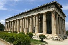 Viejo ágora en Atenas Imagen de archivo libre de regalías