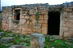 Viejo Griego Corinto fotografía de archivo