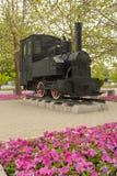 Viejo guardagujas, museo ferroviario de China Imágenes de archivo libres de regalías