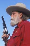 Viejo gunslinger del oeste Imagen de archivo libre de regalías