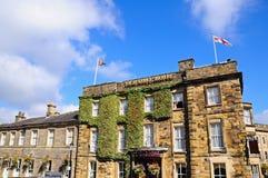 Viejo Hall Hotel, Buxton Fotos de archivo libres de regalías