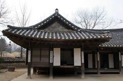 Viejo hogar coreano foto de archivo