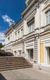 Viejo hogar en Omsk Imagen de archivo libre de regalías